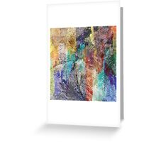 Form in Chaos Abstract Greeting Card
