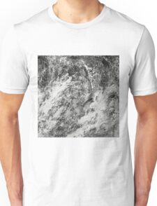 Black And White Tempest Abstract Unisex T-Shirt