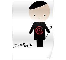 Bad Andrew - Bullseye Poster