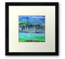 Aqualand Abstract Framed Print