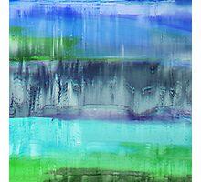Aqualand Abstract Photographic Print