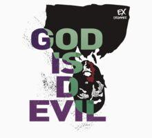 God Is D Evil Kids Tee