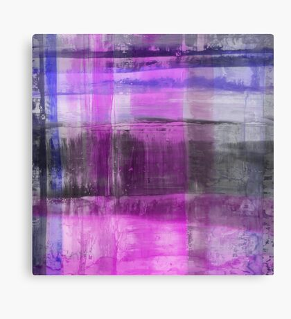 Purple And Blue Abstract Canvas Print