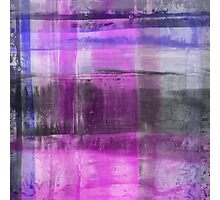 Purple And Blue Abstract Photographic Print