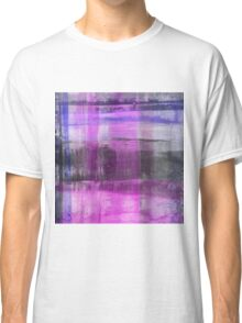 Purple And Blue Abstract Classic T-Shirt