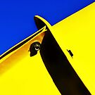 abstract blue & yellow by lastgasp