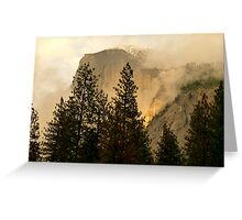 "Gold ""Rush"" in Yosemite National Park Greeting Card"