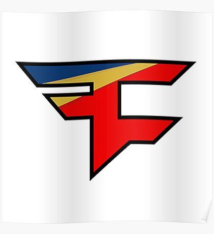 Official Faze Clan Logo Poster