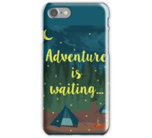 Adventure is waiting! iPhone Case/Skin