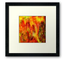 Burned - Abstract Painting Framed Print