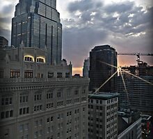 Kansas City Sunrise by PicsbyJody