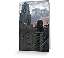 Kansas City Sunrise Greeting Card