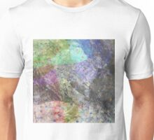 Multi Coloured Abstract Painting Unisex T-Shirt