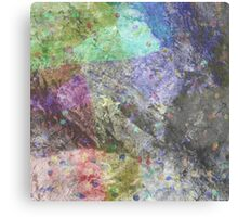 Multi Coloured Abstract Painting Canvas Print