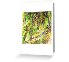 Abstract VIII Greeting Card