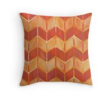 Chevron - Brushfire Throw Pillow