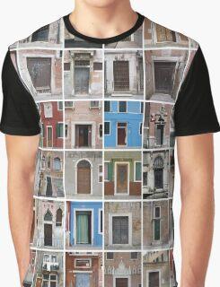 Venetian Doors Graphic T-Shirt