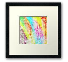 Abstract Rainbow #IX Framed Print