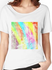 Abstract Rainbow #IX Women's Relaxed Fit T-Shirt