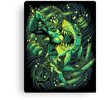 Beast Brawl prints Canvas Print
