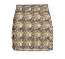 frida kahlo deer collage Mini Skirt