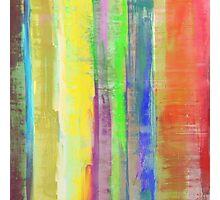 Rainbow Stripes Photographic Print