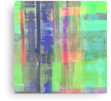 Checkered Abstract Canvas Print
