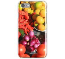 Colorful Fruits and Vegetables iPhone Case/Skin