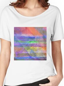 Rainbow Diamond Women's Relaxed Fit T-Shirt