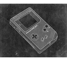 Distressed Nintendo Game Boy - Black & White Photographic Print