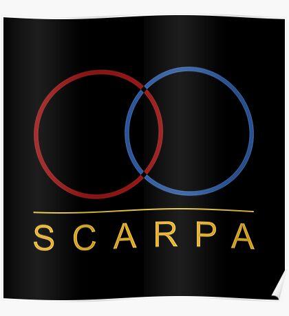 Scarpa Logo Poster