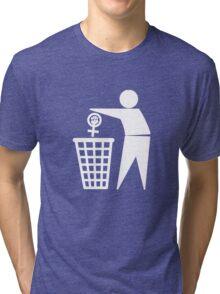 Anti-Feminism Tri-blend T-Shirt