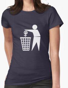 Anti-Feminism Womens Fitted T-Shirt