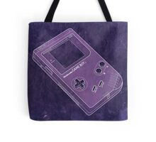 Distressed Nintendo Game Boy - Purple Tote Bag