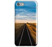 Trans Siberian Train Lines iPhone Case/Skin