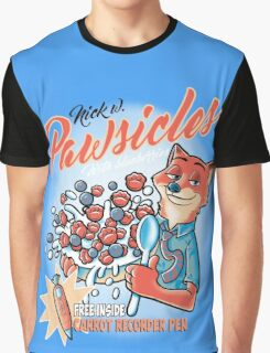 Pawsicles Graphic T-Shirt