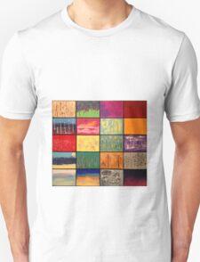 Abstract Landscape Mosaics Unisex T-Shirt