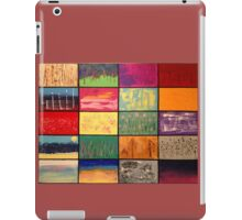 Abstract Landscape Mosaics iPad Case/Skin
