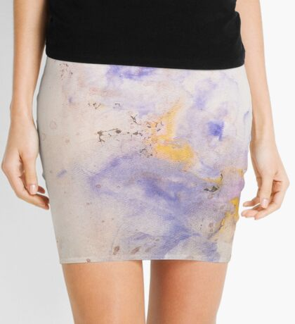 Funky Colorful Ink Pattern Designs Mini Skirt