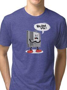 Blow Me NES  Tri-blend T-Shirt