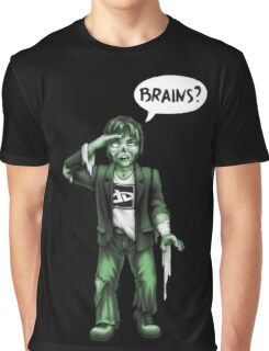 Brains? Graphic T-Shirt