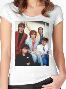 VINTAGE DURAN DURAN Women's Fitted Scoop T-Shirt