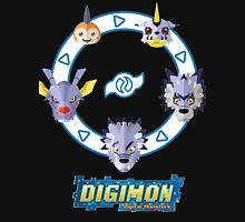 Digimon : Gabumon Evolution Unisex T-Shirt