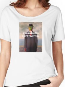 Young Metro - The Son of Man Women's Relaxed Fit T-Shirt