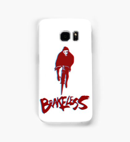 Brakeless Fixie/Fixed Gear 3D Samsung Galaxy Case/Skin