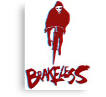Brakeless Fixie/Fixed Gear 3D Canvas Print