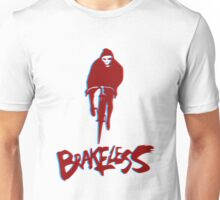 Brakeless Fixie/Fixed Gear 3D Unisex T-Shirt