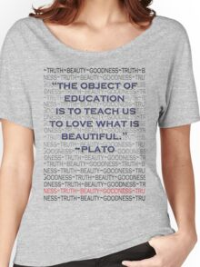 Education: For Beauty's Sake Women's Relaxed Fit T-Shirt