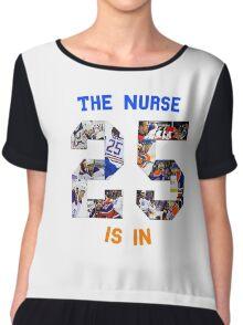 The (Darnell) Nurse Is In Edmonton Oilers Women's Chiffon Top