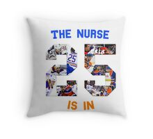 The (Darnell) Nurse Is In Edmonton Oilers Throw Pillow